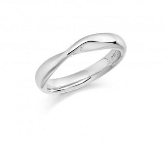 Platinum 3.6mm Bellini wedding ring