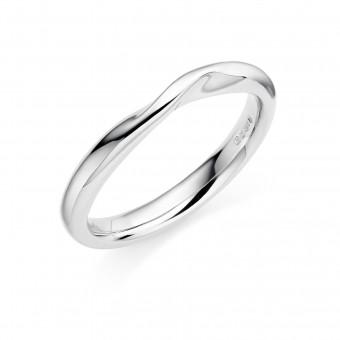 Platinum 2.9mm Bellini wedding ring