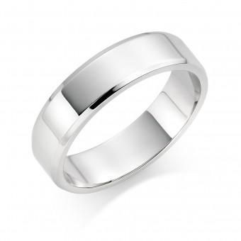 Platinum 6mm New Windsor  wedding ring