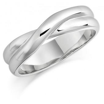Platinum 4.8mm Rosalia wedding ring