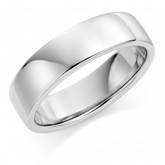 Platinum 6mm Eton wedding ring.
