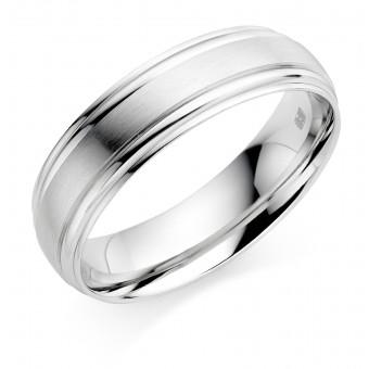 Platinum 6mm Donnalyn wedding ring