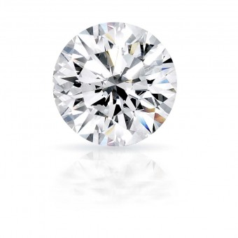 0.52 carat Round cut diamond