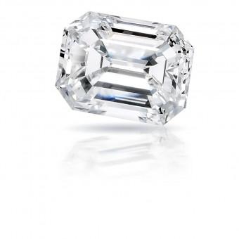 0.51 carat Emerald cut diamond