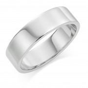 Platinum 6mm Windsor wedding ring
