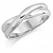 Platinum 4.8mm Rosalia wedding ring