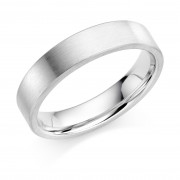 Platinum 5mm Zarah wedding ring