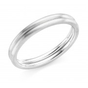 Platinum 3mm Lina wedding ring