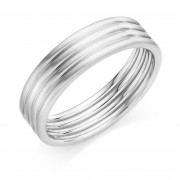 Platinum 6mm Lina wedding ring
