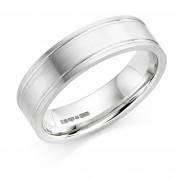 Platinum 6mm Ricadonna wedding ring