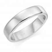 Platinum 5mm Eton wedding ring.