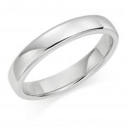 Platinum 4mm Eton wedding ring.