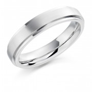 Platinum 5mm Rufina wedding ring