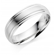 Platinum 6mm Donnalyn wedding ring