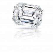0.51 carat Emerald cut diamond