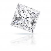 1.01 carat Princess cut diamond