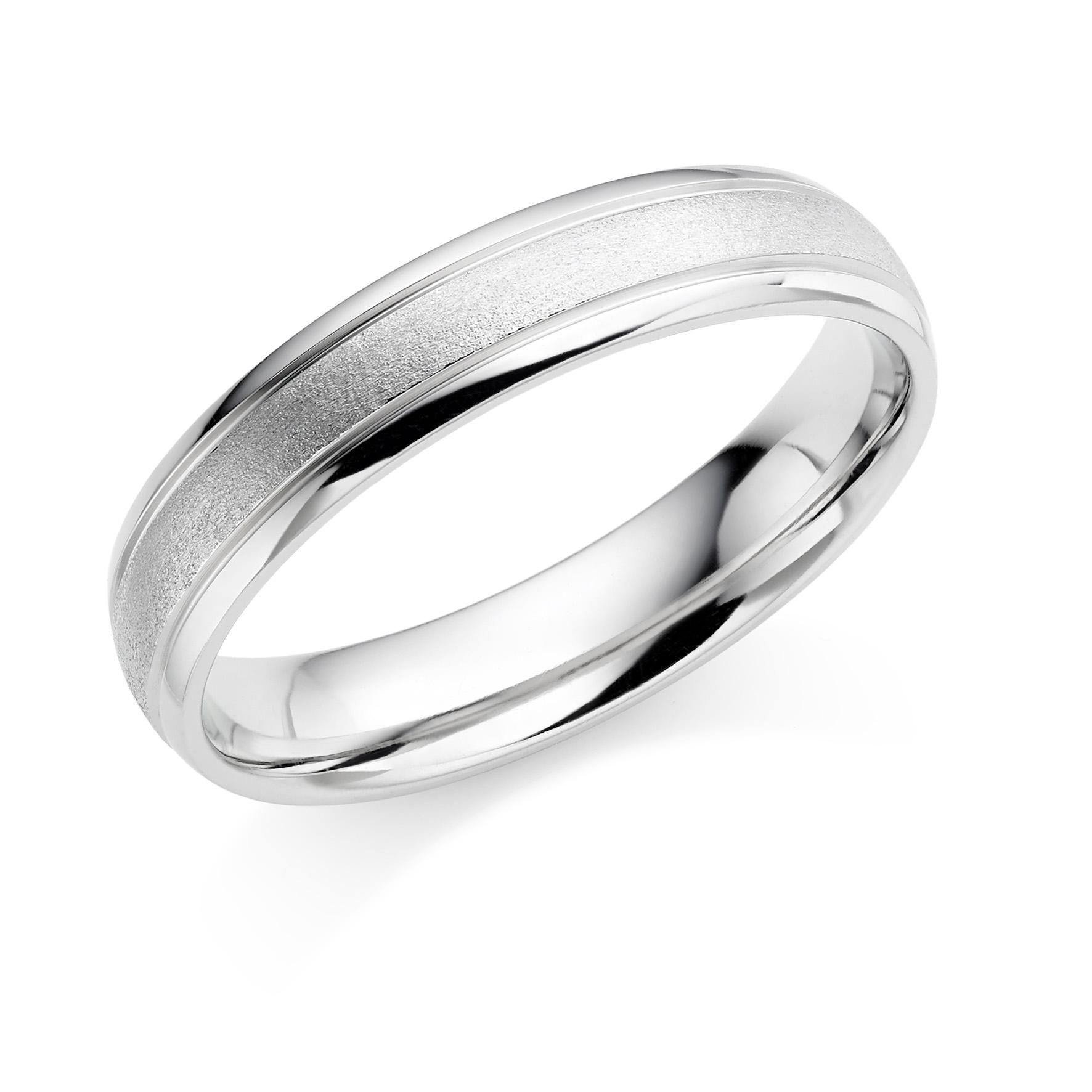 A Platinum Wedding Ring