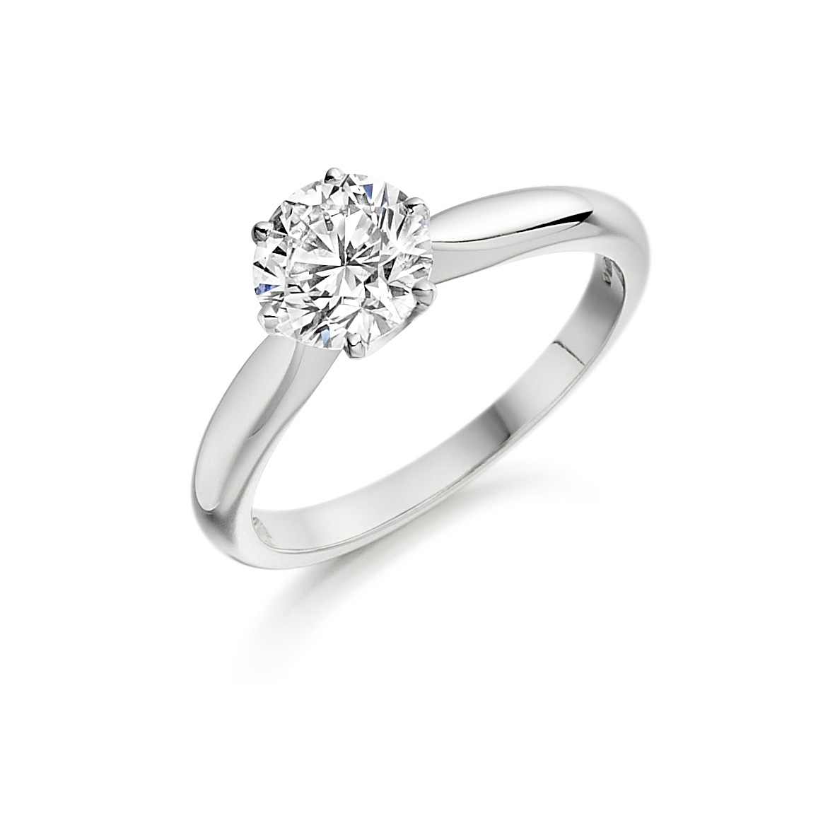 Low Engagement Ring Setting
