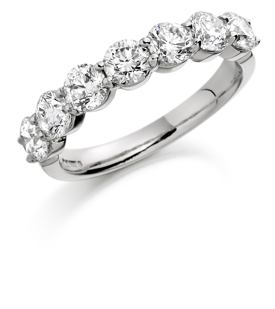 Claudina Eternity Rings Hatton Garden