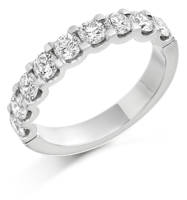 Eternity Rings in Hatton Garden: The Sabrina