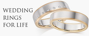 Multiple Colour Wedding Rings at Rennie & Co