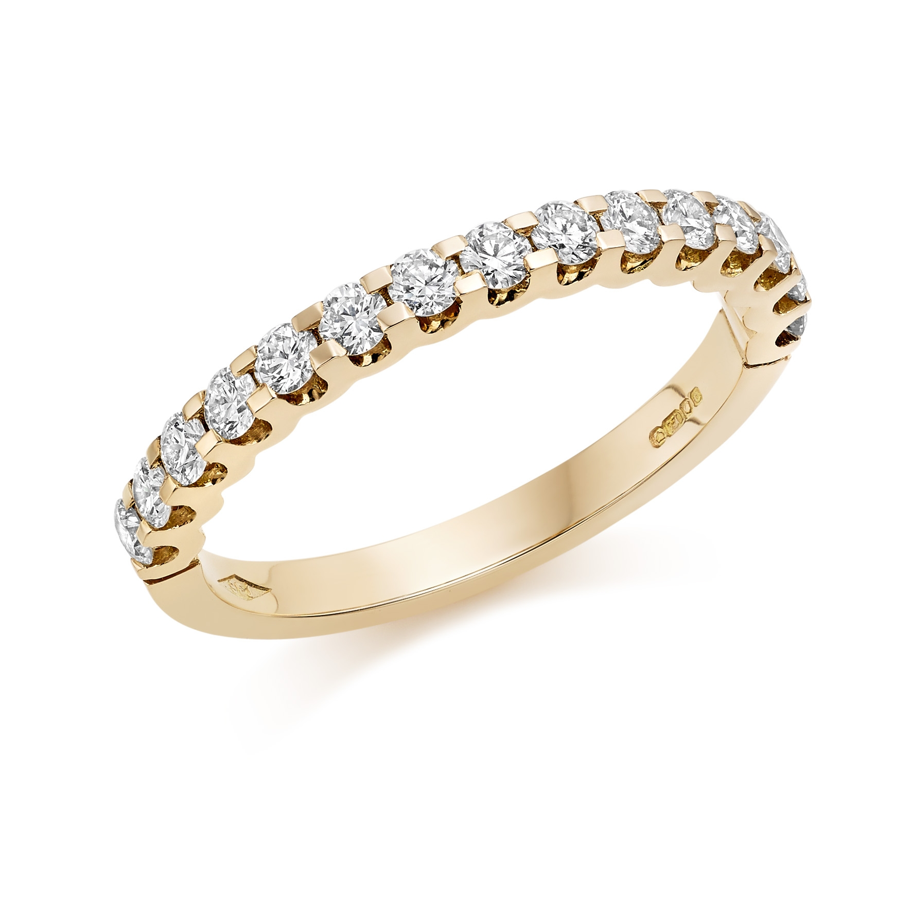 Rose Gold Eternity Rings Hatton Garden